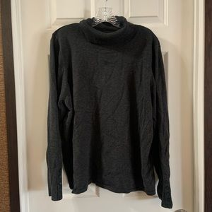 Lane Bryant Dark Grey Turtle Neck Sweater 22/24